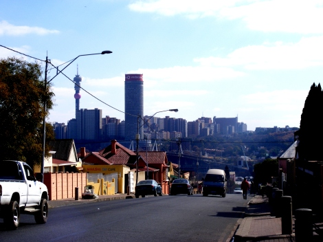 The suburb of Troyeville sits on the outskirts of the Joburg CBD