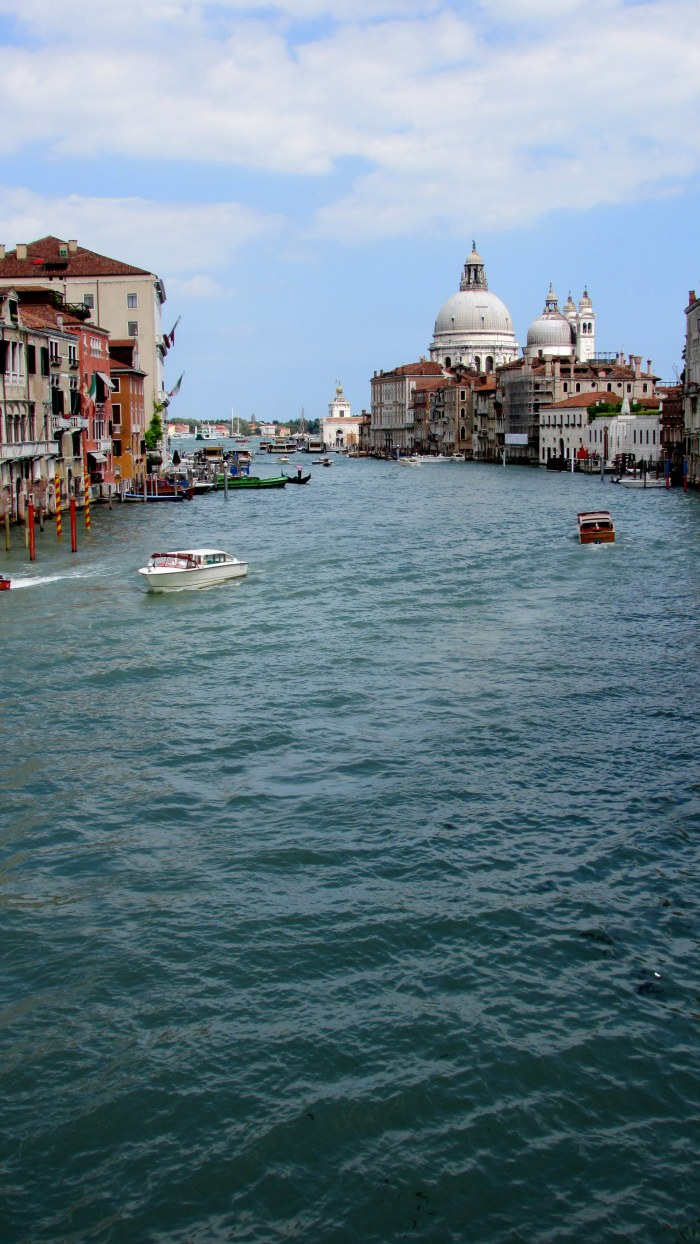 One of the main canals in Venice