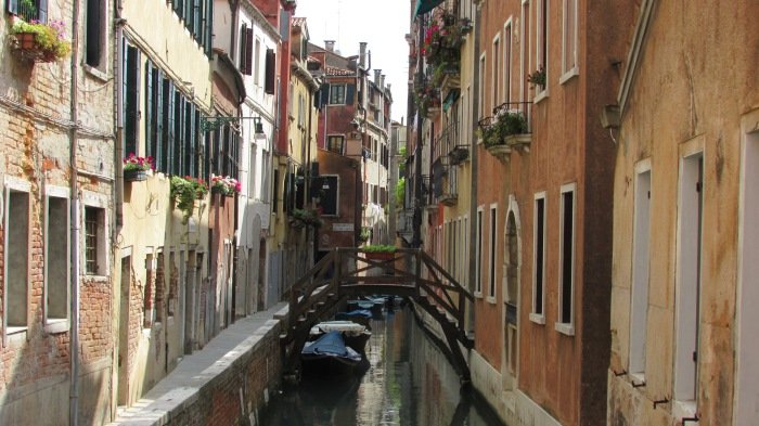 Another one of the picturesque canals in Venice