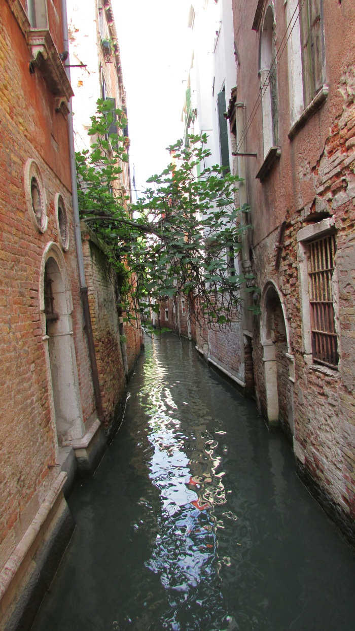 One of the small and beautiful canals in Venice