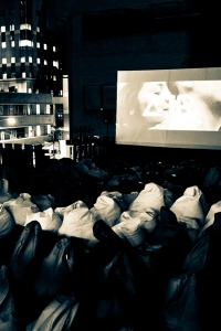 Watching a movie under the Jozi stars. Photograph provided by Air Cinema Club