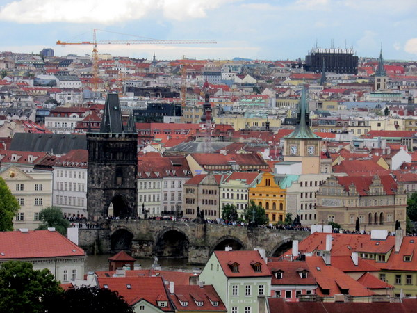 Prague, I did fall in love with you! The colourful houses