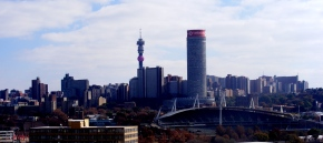 The Joburg CBD skyline