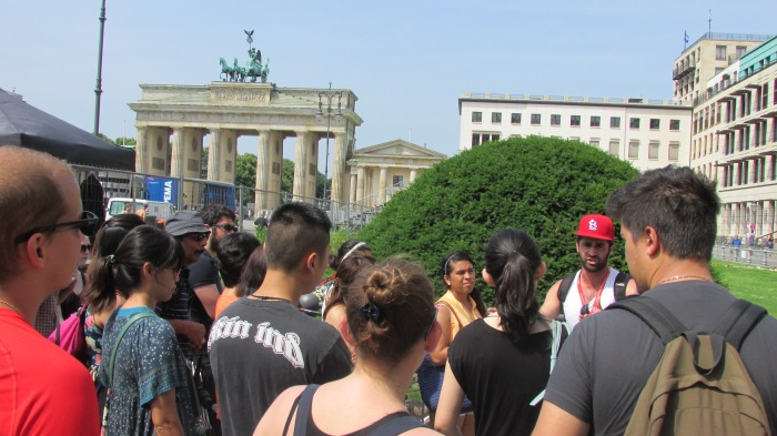 This was at the start of the Berlin tour