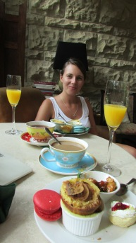 Enjoying High Tea