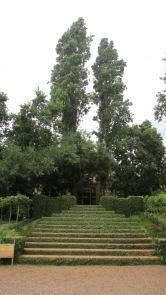 Entrance way into the reception