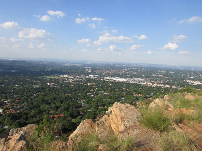Joburg Suburbs from Northcliff Water Tower