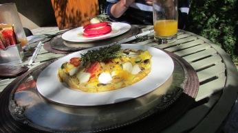Morrells Boutique Estate Bistro breakfast