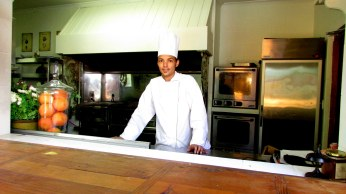 Morrells Boutique Estate Chef Tyrone