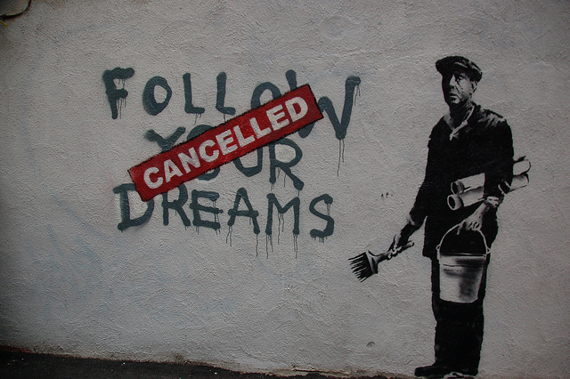 Cancelling Dreams (Chris Devers / Flickr)