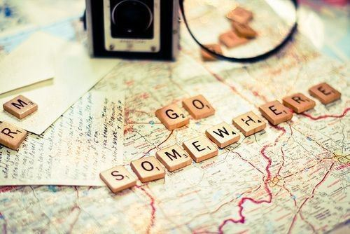 Go somewhere
