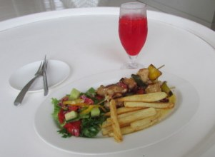Chicken Kebab and R&R